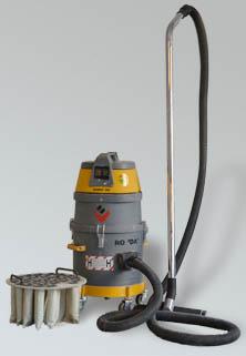 Aspirateur industriel à poussières fines Ronda 200